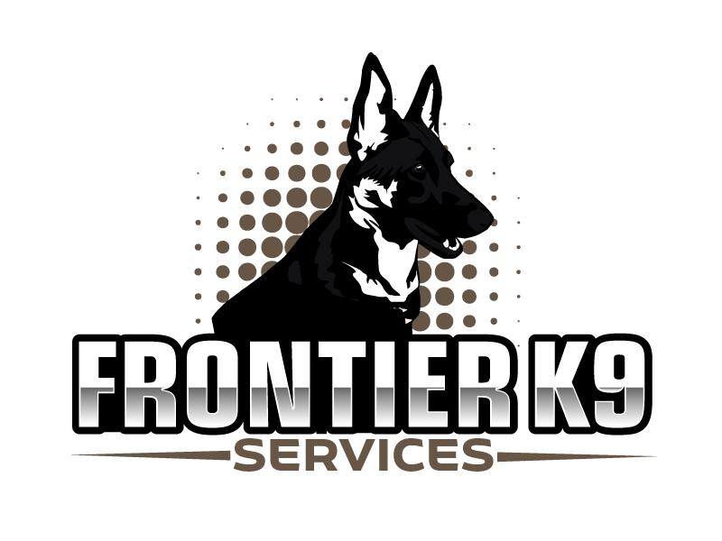 Frontier Tactical K9 Services logo design by ElonStark