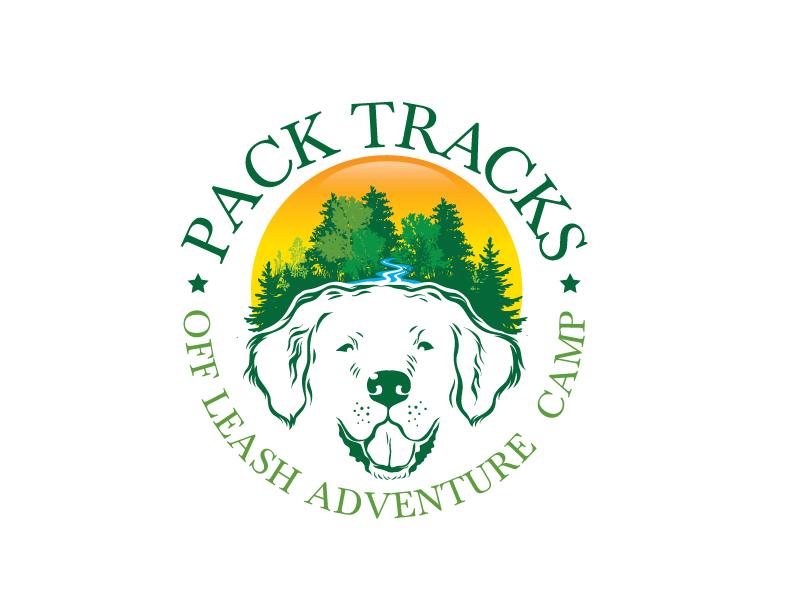 Pack Tracks logo design by harshikagraphics