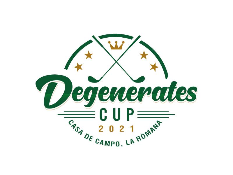 Degenerates Cup 2021 logo design by sanworks