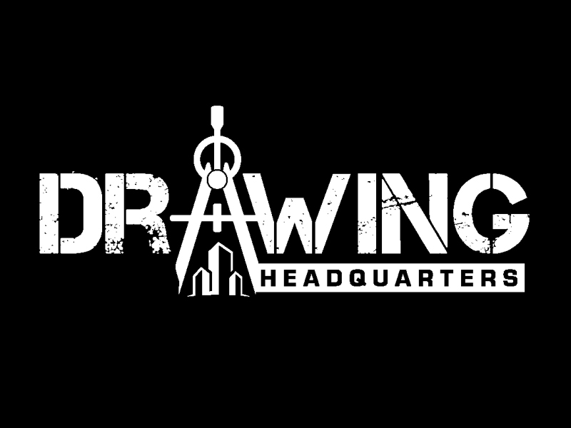 Drawing Headquarters logo design by DreamLogoDesign