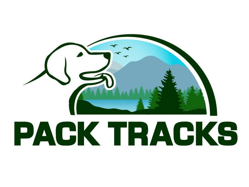 Pack Tracks logo design by PMG