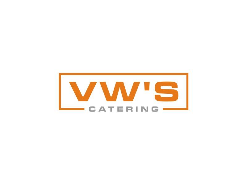 VW's Catering logo design by Arto moro