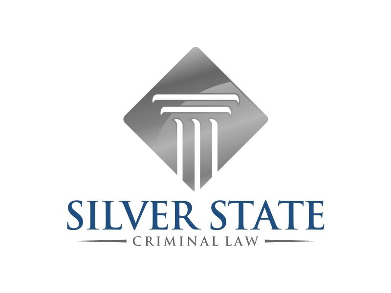 Silver State Criminal Law logo design by mutafailan