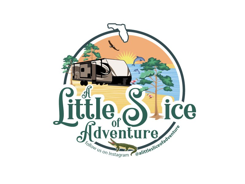 A Little Slice of Adventure Logo Design