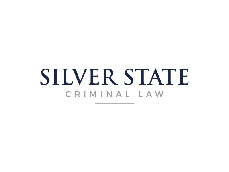 Silver State Criminal Law logo design by gilkkj