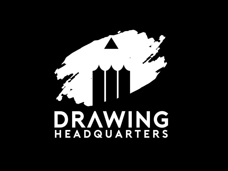 Drawing Headquarters logo design by serprimero