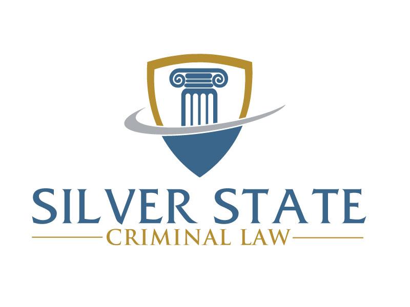 Silver State Criminal Law logo design by ElonStark