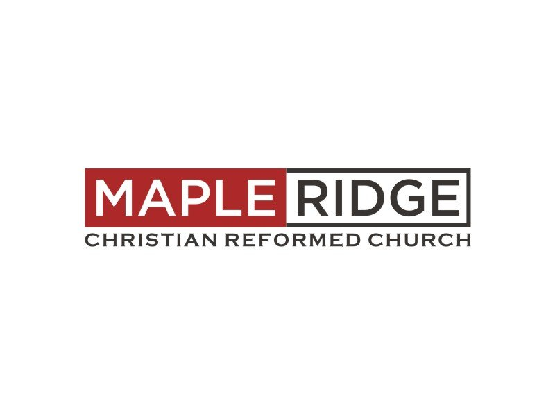 Maple Ridge Christian Reformed Church logo design by Arto moro