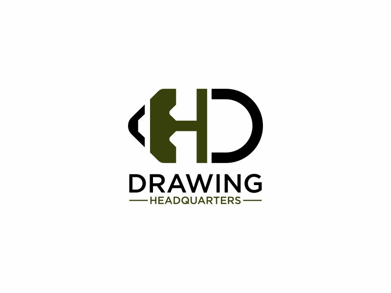 Drawing Headquarters logo design by hopee