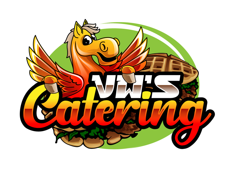 VW's Catering logo design by DreamLogoDesign