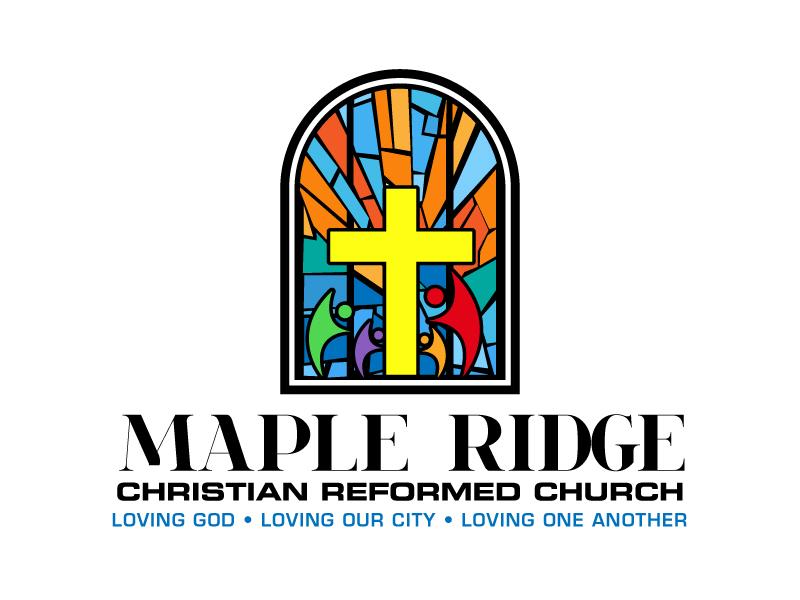Maple Ridge Christian Reformed Church logo design by LogoInvent
