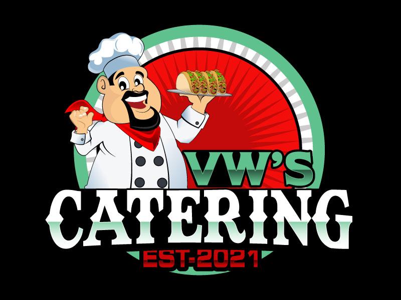 VW's Catering logo design by Suvendu