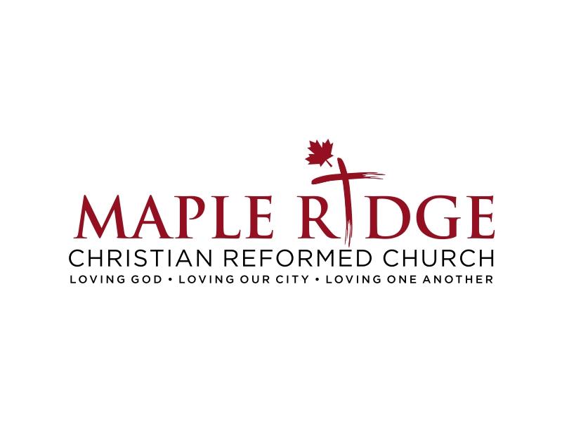Maple Ridge Christian Reformed Church logo design by GassPoll
