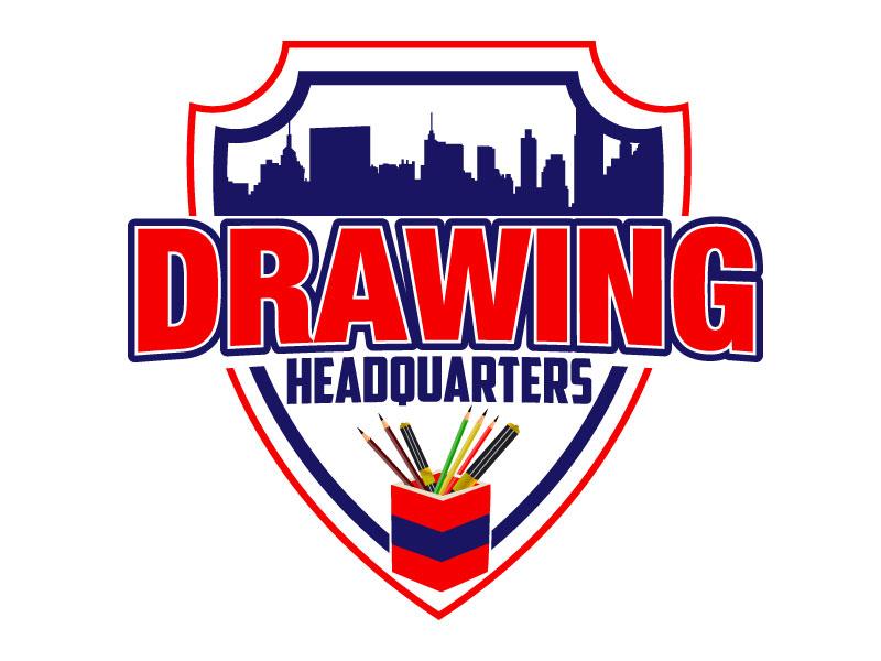 Drawing Headquarters logo design by Suvendu