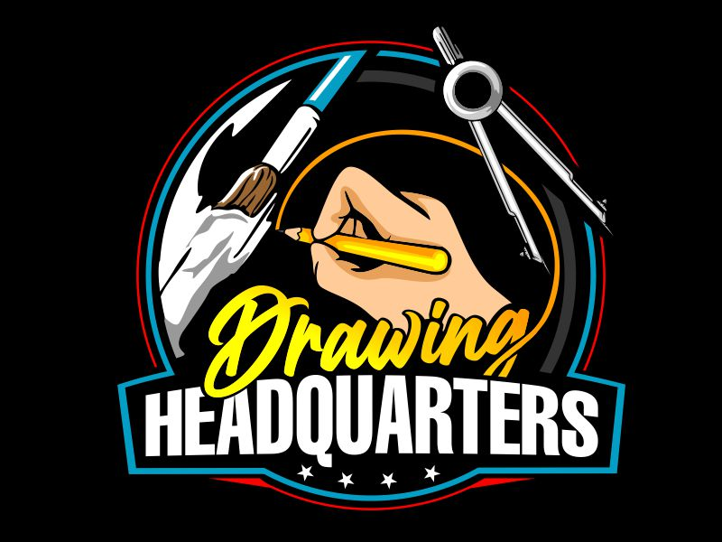 Drawing Headquarters logo design by veron