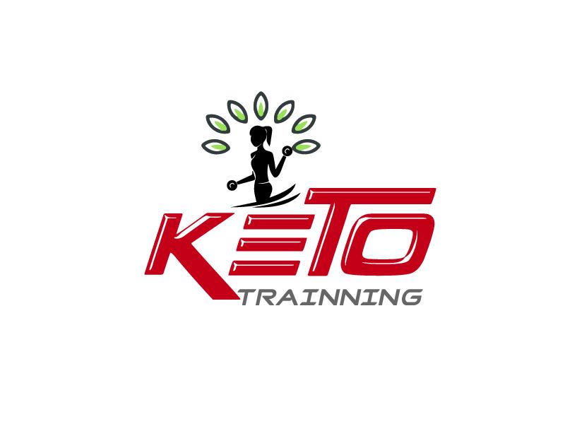 Keto Trainer logo design by pixeldesign