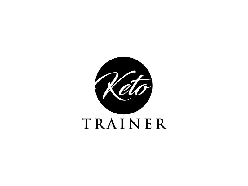 Keto Trainer logo design by sheila valencia