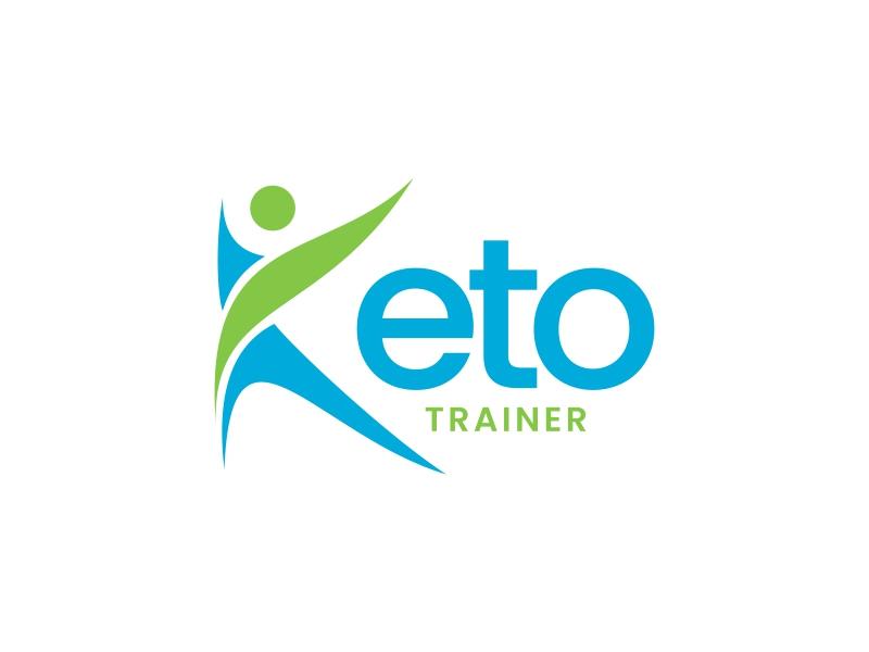 Keto Trainer logo design by yunda