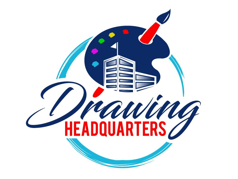 Drawing Headquarters logo design by PMG