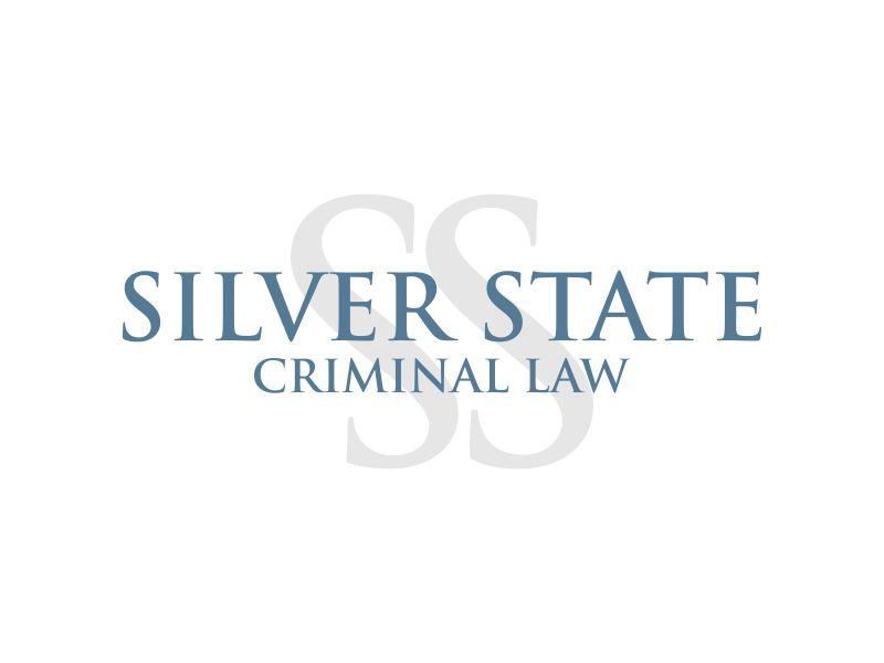 Silver State Criminal Law logo design by MUNAROH
