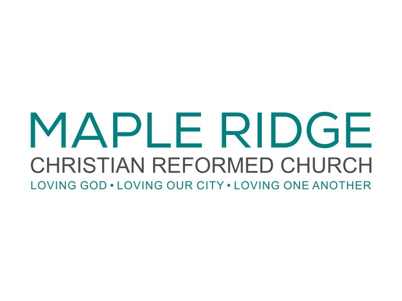 Maple Ridge Christian Reformed Church logo design by cintoko