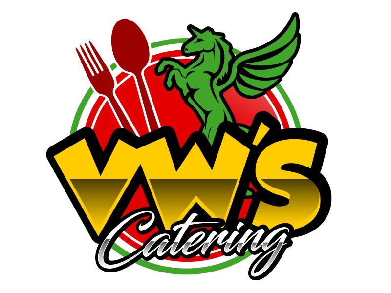 VW's Catering logo design by ElonStark