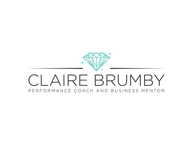 Claire Brumby - Performance Coach and Business Mentor logo design by wongndeso