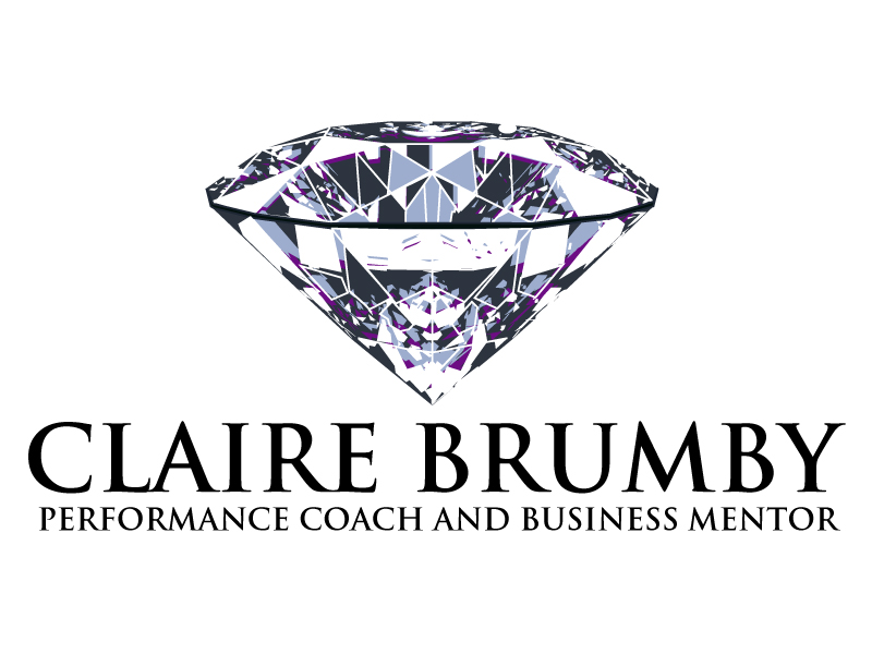 Claire Brumby - Performance Coach and Business Mentor logo design by ElonStark