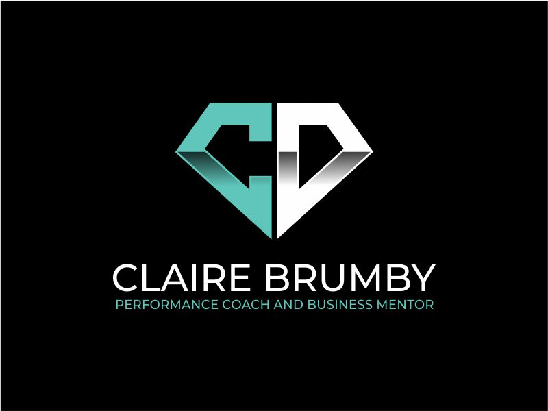 Claire Brumby - Performance Coach and Business Mentor logo design by Girly