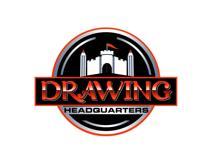 Drawing Headquarters logo design by axel182