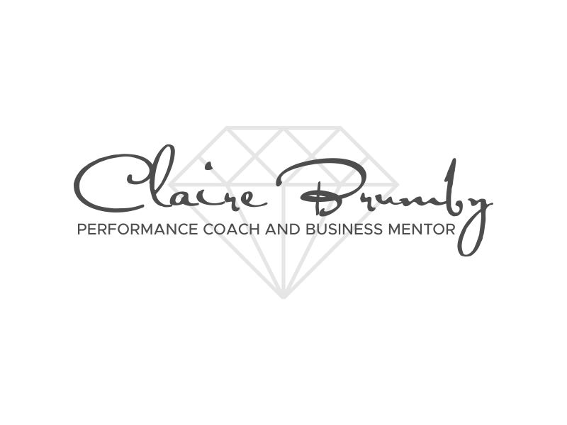 Claire Brumby - Performance Coach and Business Mentor logo design by kopipanas