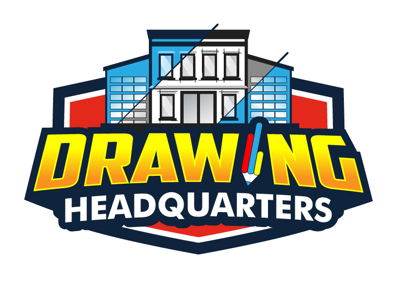 Drawing Headquarters logo design by jaize