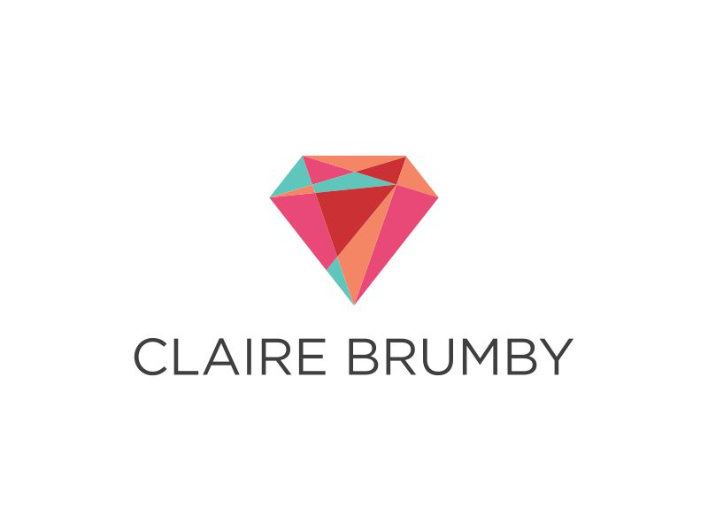 Claire Brumby - Performance Coach and Business Mentor logo design by Lewung