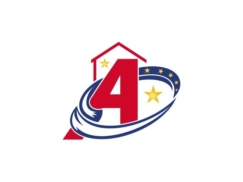America's Furniture Warehouse logo design by brandshark