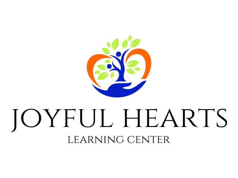 Joyful Hearts Learning Center logo design by jetzu