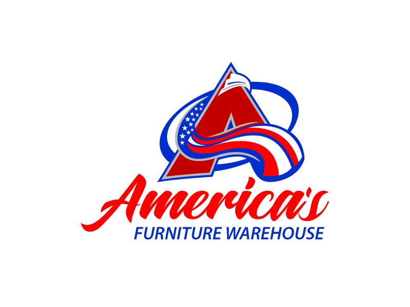 America's Furniture Warehouse logo design by Koushik Mondal