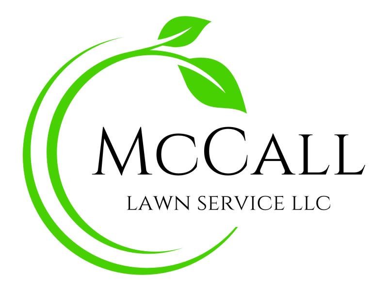 McCall Lawn Service LLC logo design by jetzu