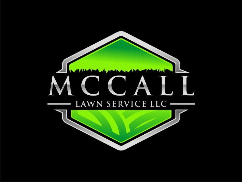 McCall Lawn Service LLC logo design by BintangDesign