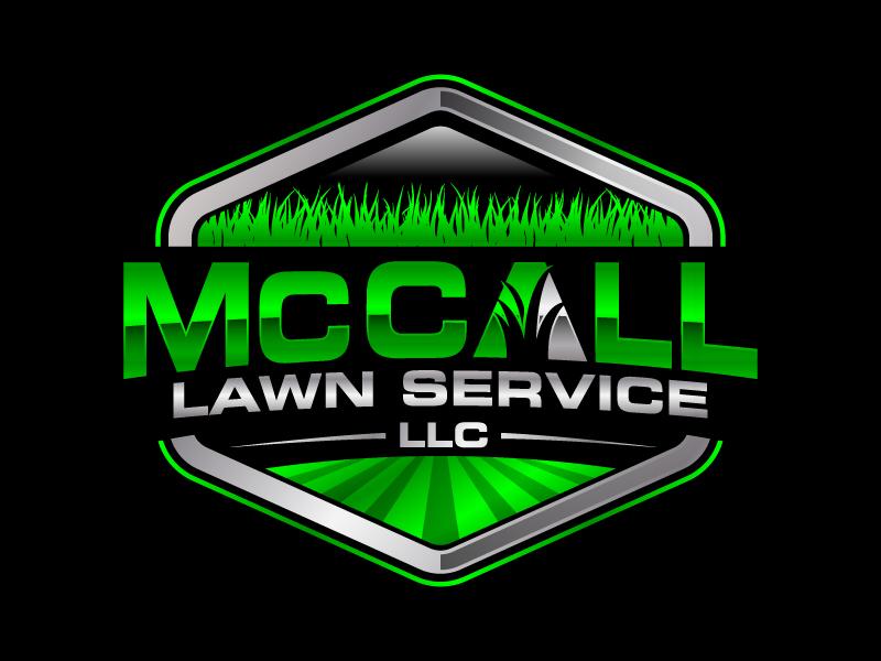 McCall Lawn Service LLC logo design by jaize