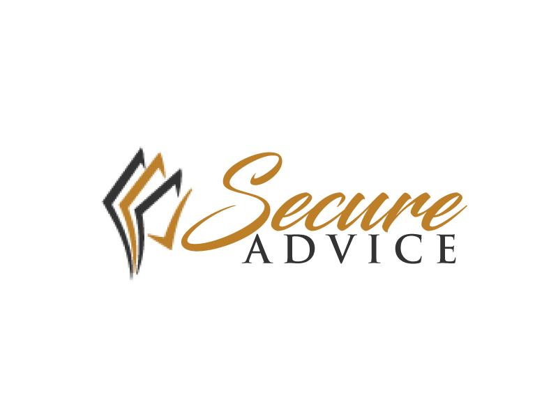 Secure Advice logo design by ElonStark