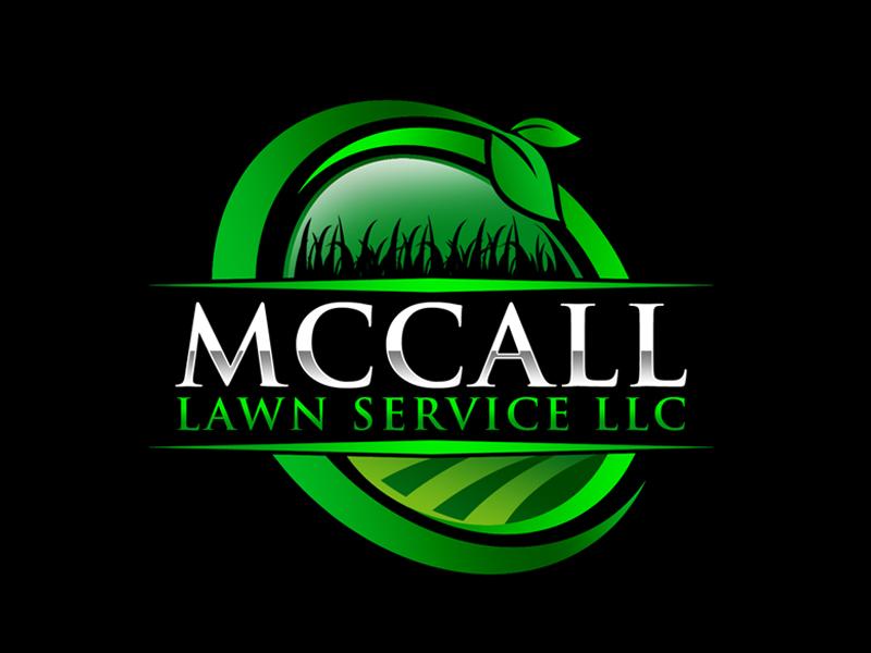 McCall Lawn Service LLC logo design by ingepro