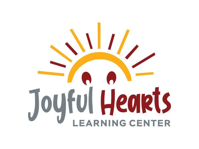 Joyful Hearts Learning Center logo design by Gwerth