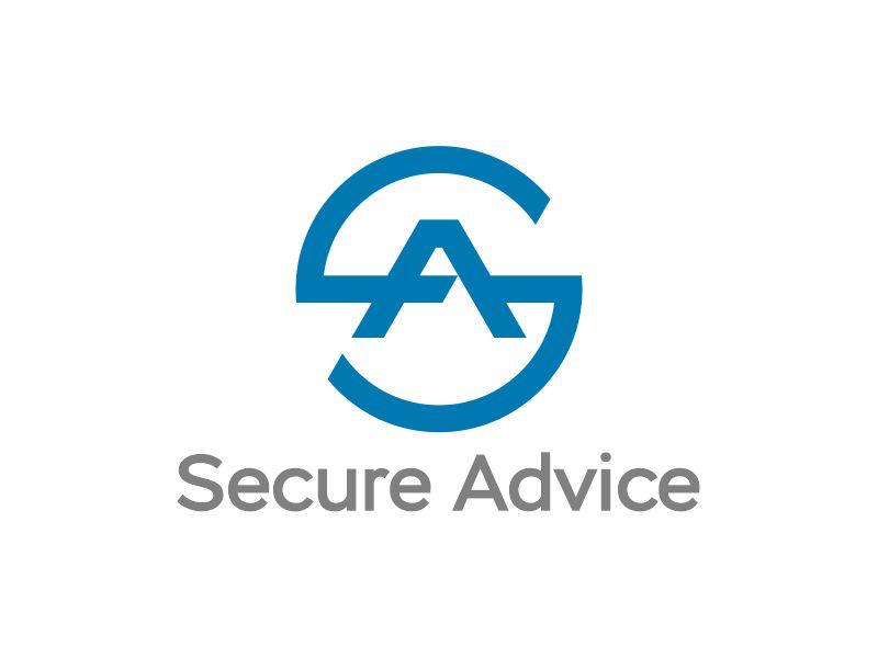 Secure Advice logo design by Gwerth