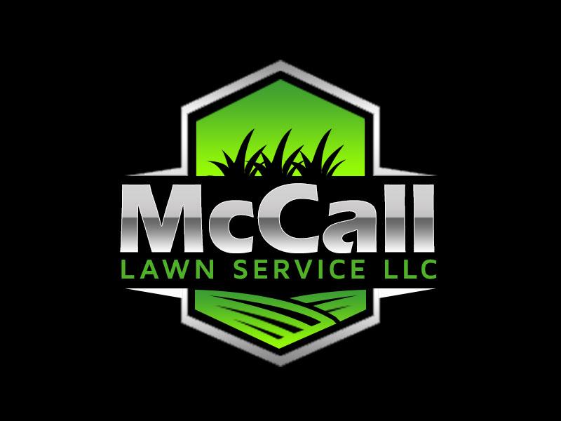 McCall Lawn Service LLC logo design by kunejo