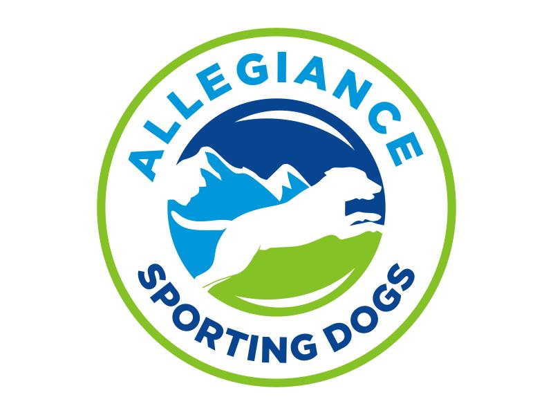 Allegiance Sporting Dogs logo design by cikiyunn