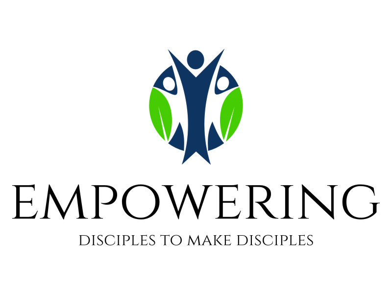 """Phrase included in  the logo: """"empowering disciples to make disciples"""" logo design by jetzu"""
