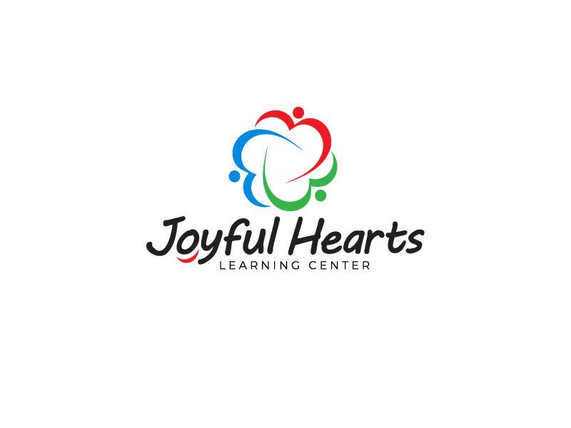 Joyful Hearts Learning Center logo design by 21082
