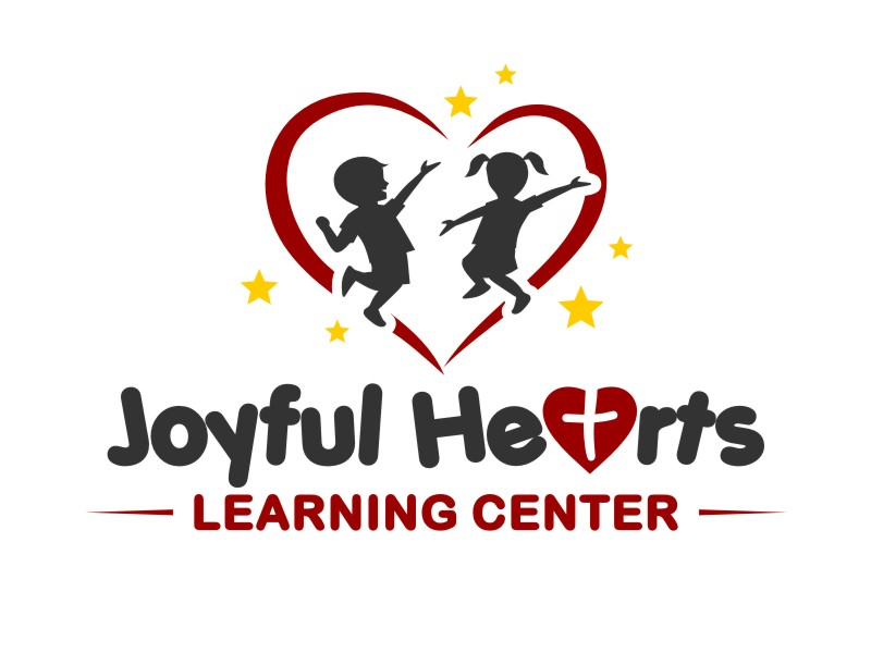 Joyful Hearts Learning Center logo design by haze