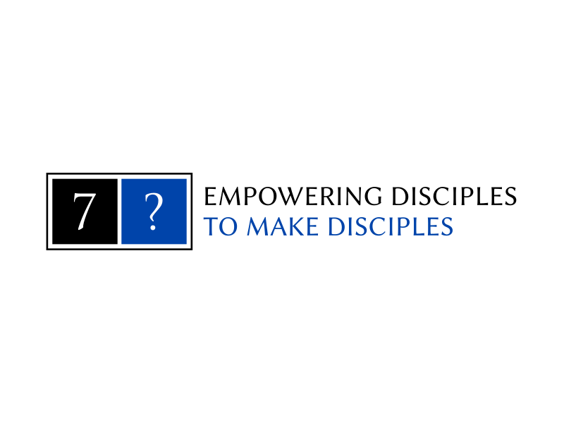 """Phrase included in  the logo: """"empowering disciples to make disciples"""" logo design by gomadesign"""