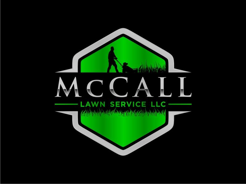 McCall Lawn Service LLC logo design by GemahRipah